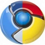 Chromium and Chrome mixed logo