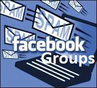 Facebook groups are engaged in spamming