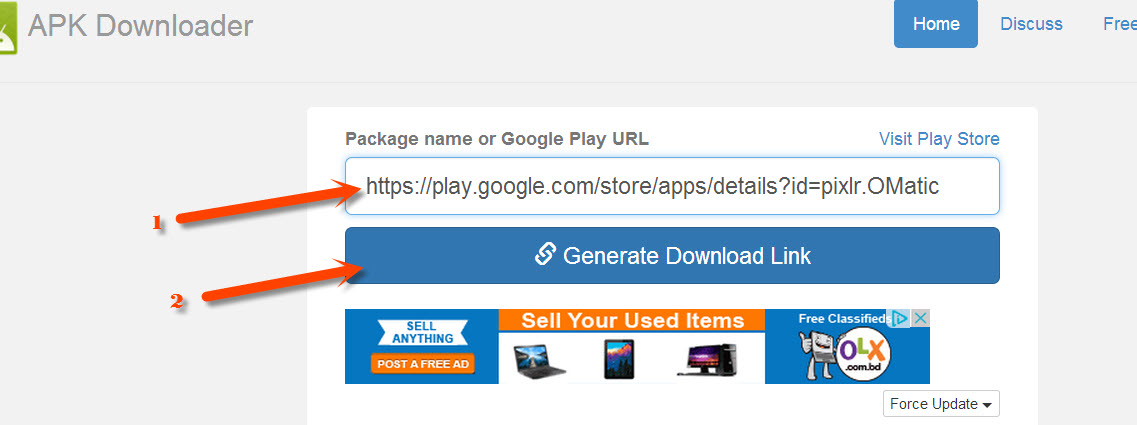 how to save apk from google play store