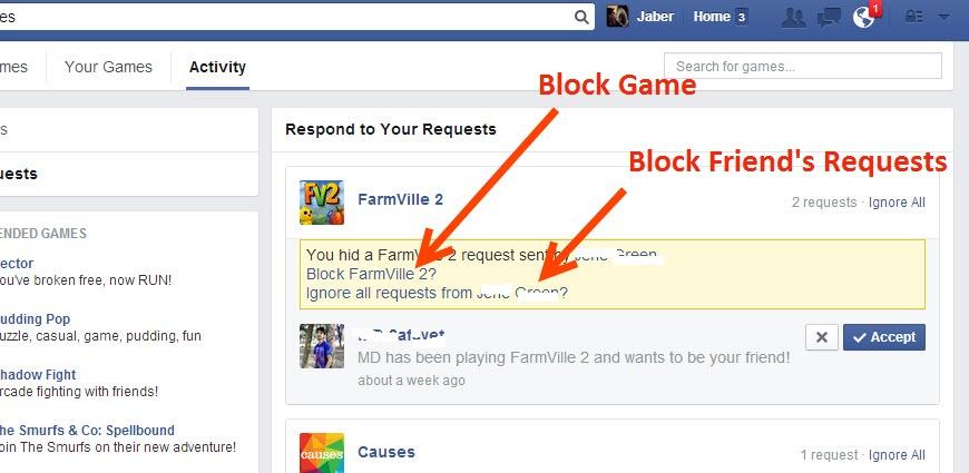 Block Facebook Game Invites as perfect invitation design