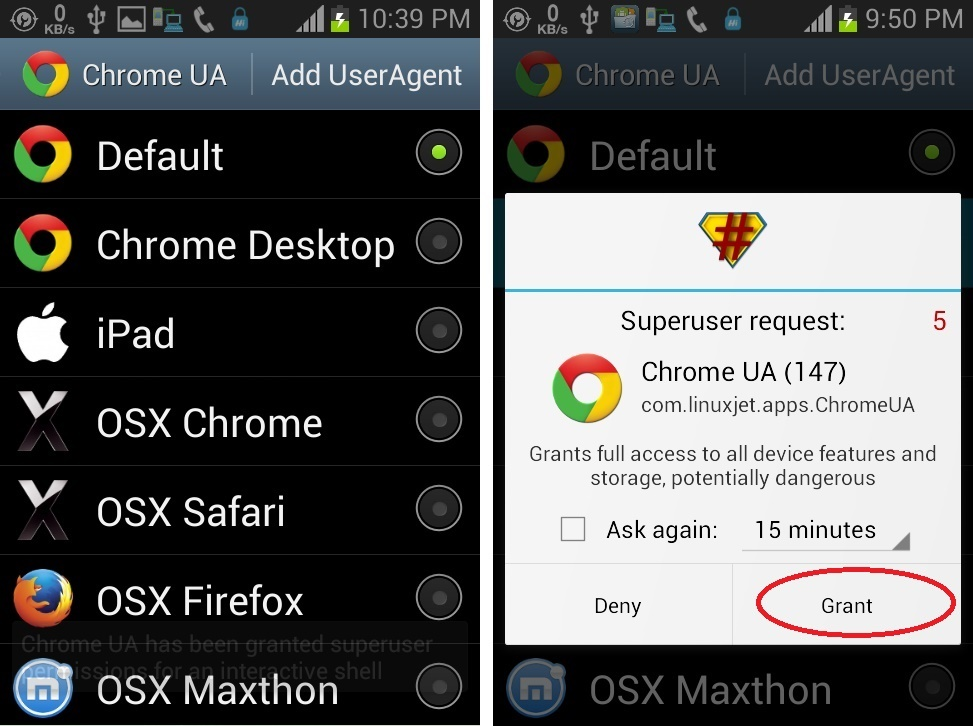 How to Change Chrome for Android User Agent String Easily | TechGainer