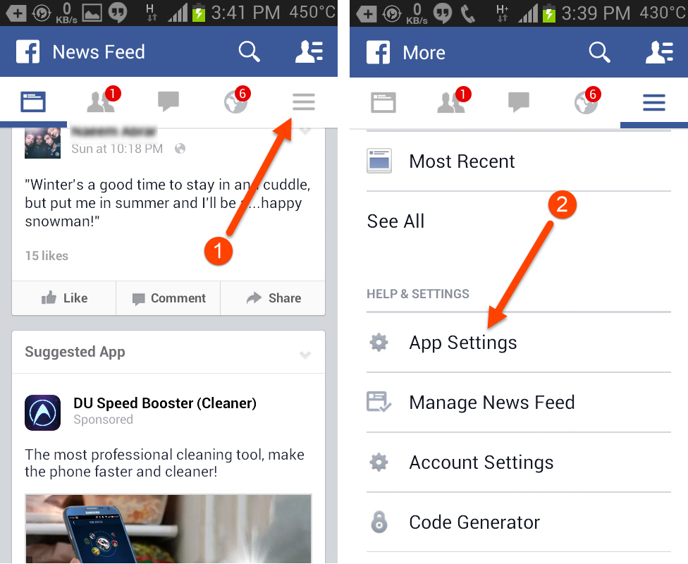 how to turn off location on facebook app