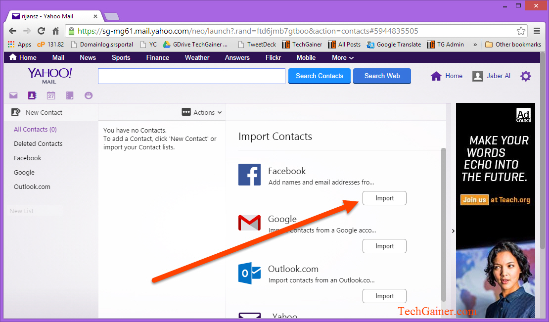 how to export contacts from windows live mail to gmail