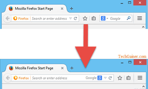 Combine Firefox Address Bar And Search Bar Into One Like