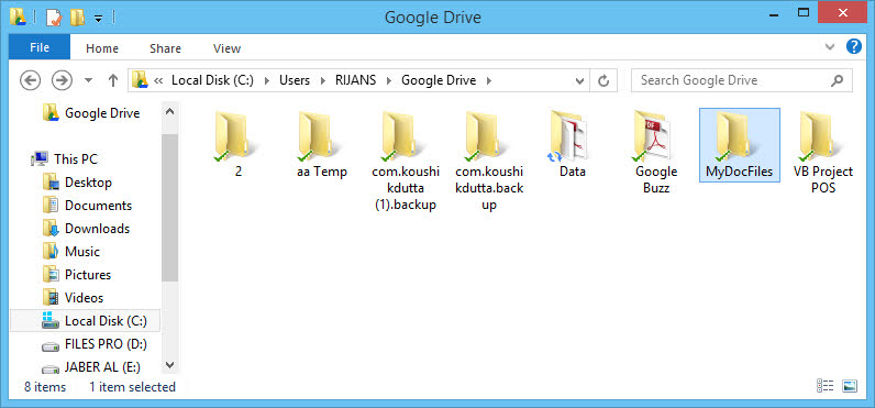 How To Sync Documents Folder With Google Drive On Windows Techgainer