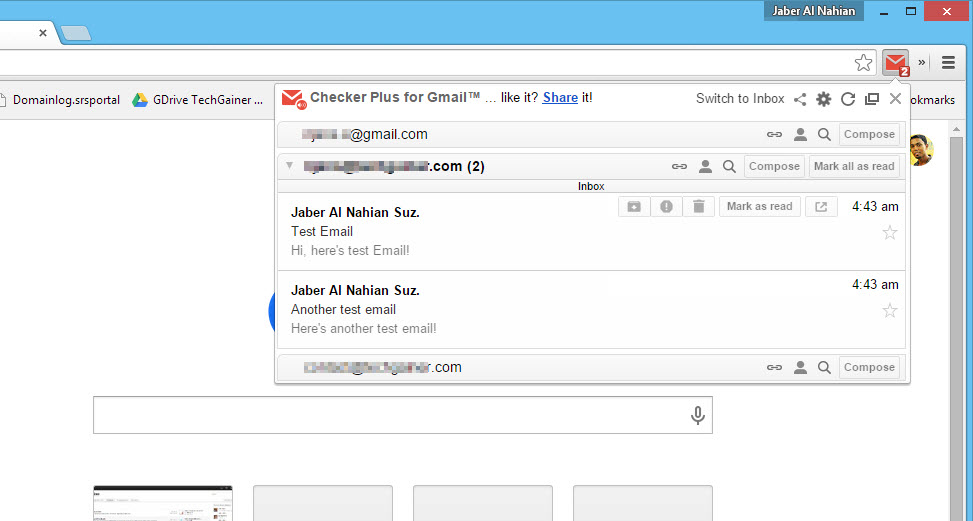 how to create gmail icon on desktop