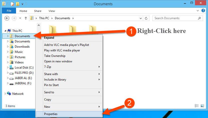 Set Google Drive as Default Documents Folder on Windows 8 and 10