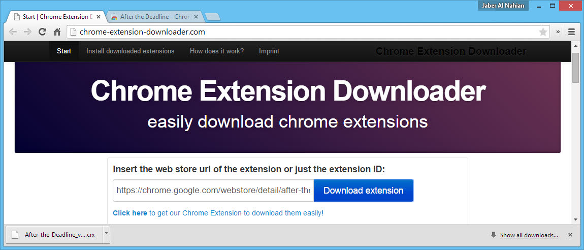 Directly Download CRX Files from Chrome Store with these 2 Tools