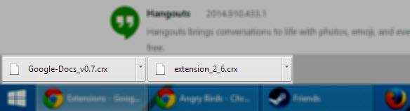 Directly Download CRX Files from Chrome Store with these 2