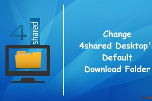 Change 4shared download directory