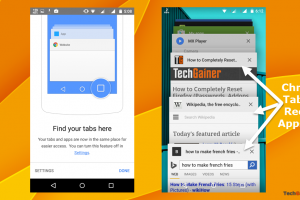 Stop Chrome tabs displaying in Android 5.0 recent apps