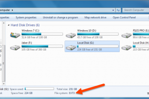 Mount Linux Ext Partition in Windows