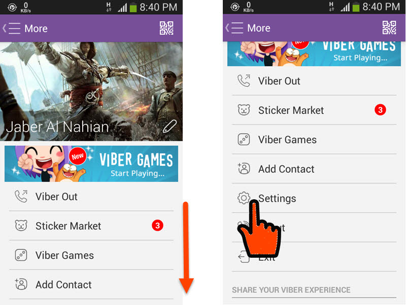 Stop Viber from Sending 'Seen' in Chat even if you Read Message