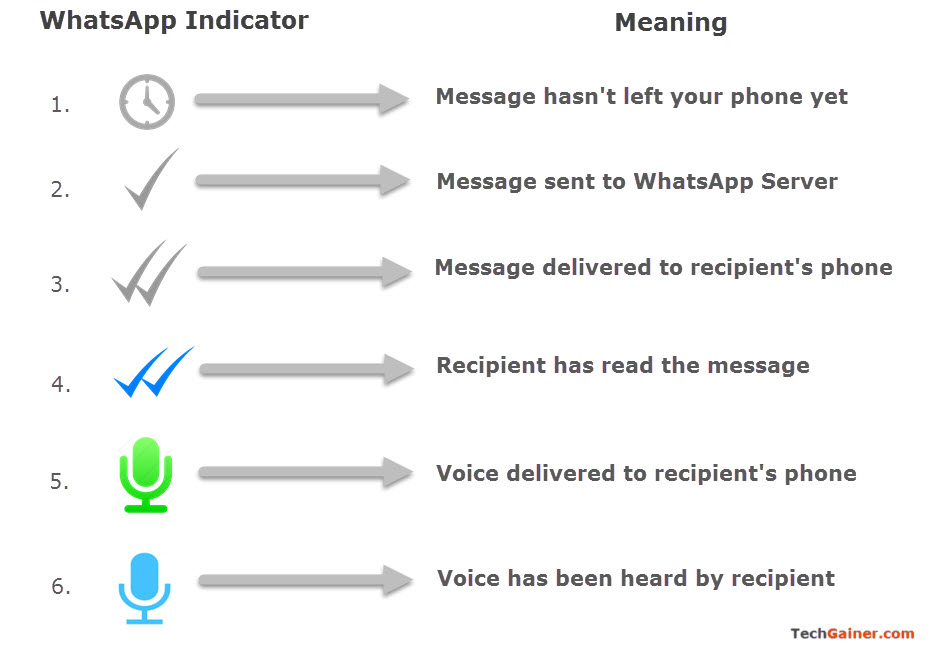 Whatsapp Message Sent Delivered And Read Status Identification